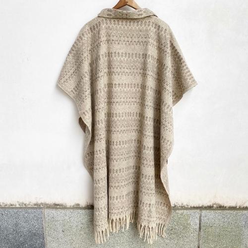 Retro Vintage Blanket Poncho Design Coat✨_a0182112_12401755.jpg