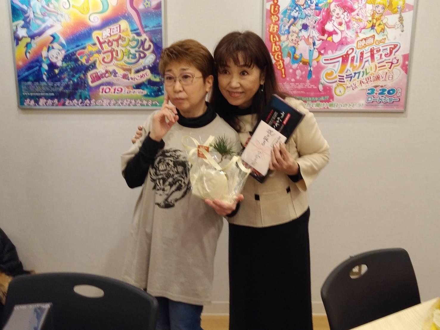 ビッグマム小山茉美ちゃんの誕生会_a0163623_14164072.jpg