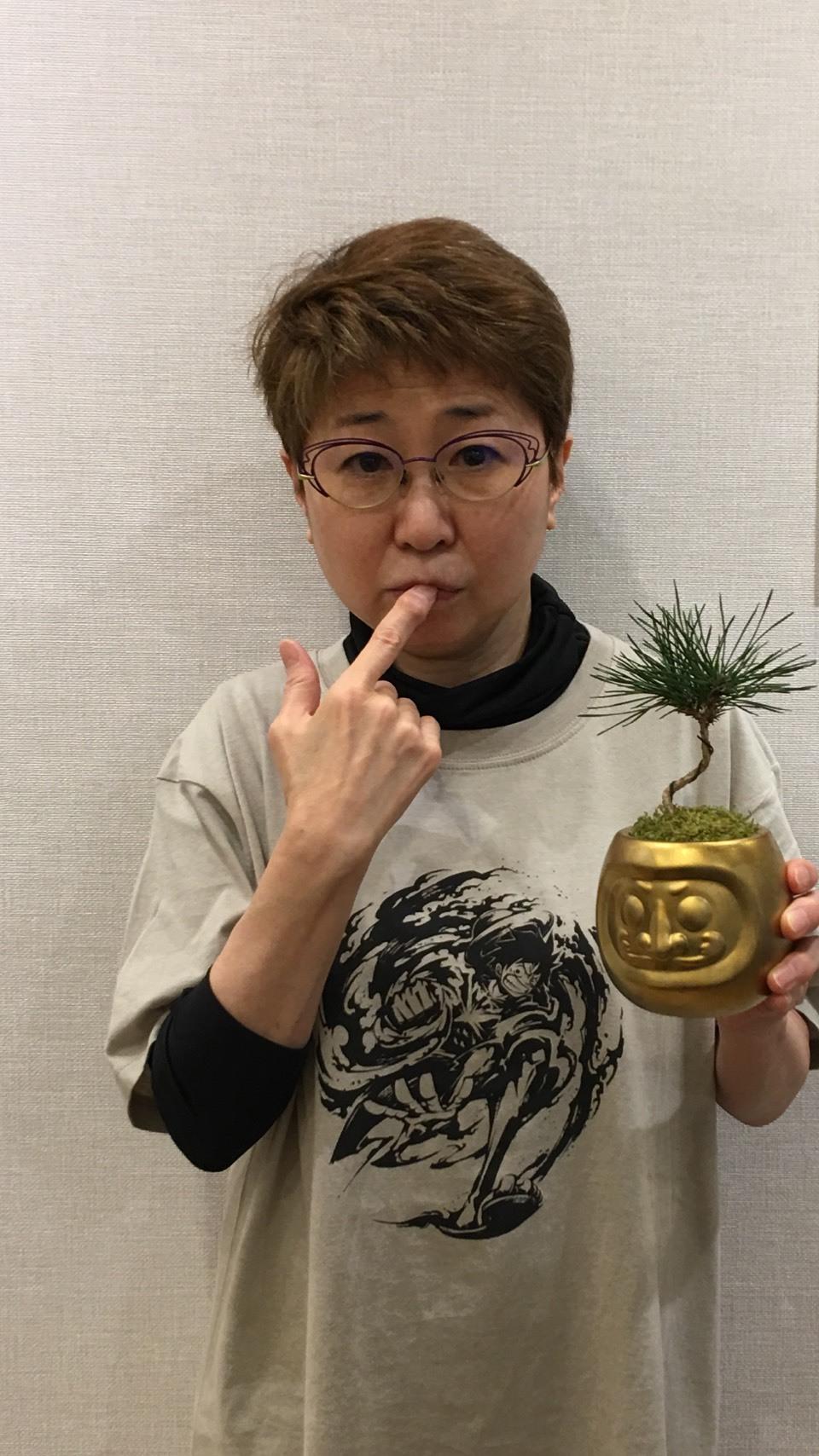 ビッグマム小山茉美ちゃんの誕生会_a0163623_14164279.jpg