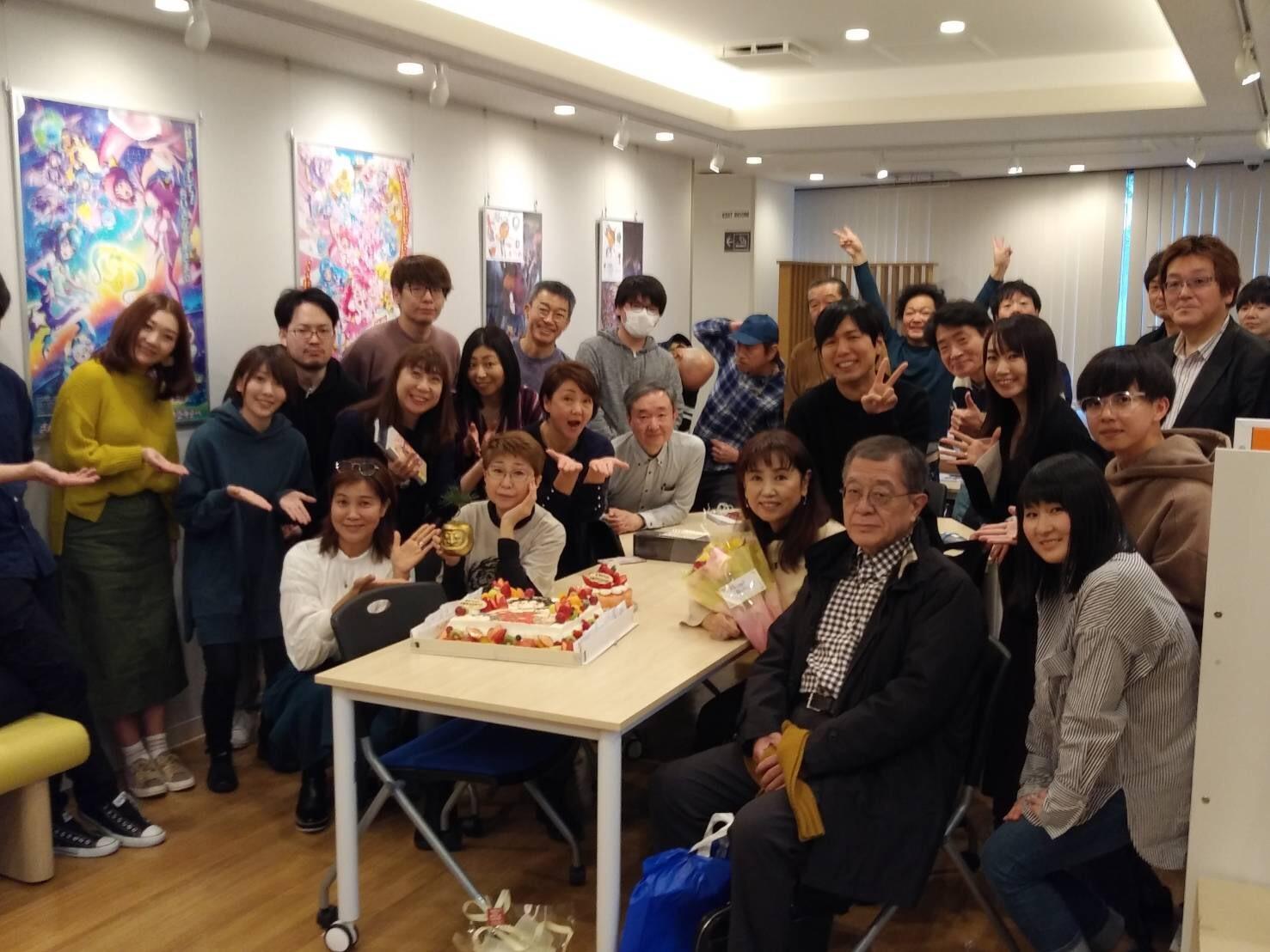 ビッグマム小山茉美ちゃんの誕生会_a0163623_14164406.jpg