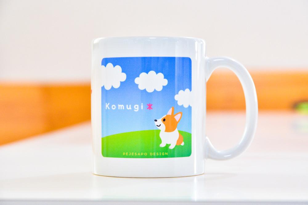 小麦ちゃんマグカップと桜マグ_d0102523_15023195.jpg