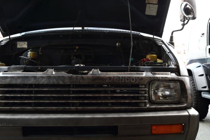 ブラックTJ外装作業完了からライトカーキも仕上げ開始_f0105425_18030540.jpg