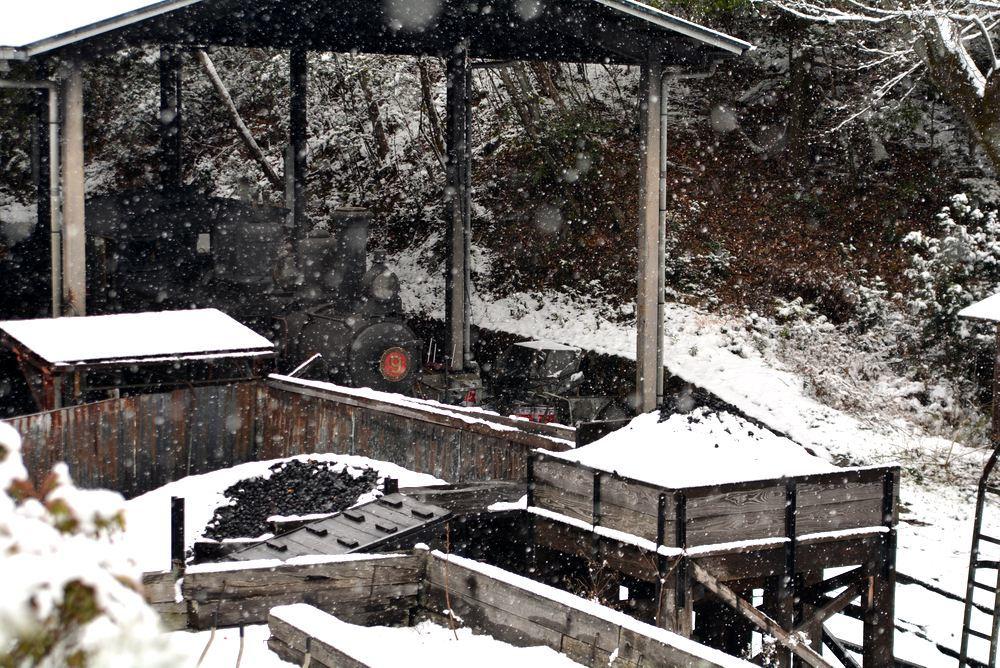 雪景色 2018年末 SL東京駅_e0373930_17460519.jpg