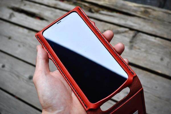 iphone Xs max leather case_b0172633_20252254.jpg