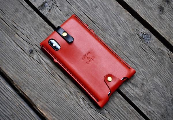 iphone Xs max leather case_b0172633_20252289.jpg