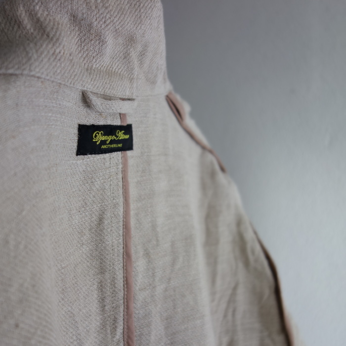 2月の製作 / anotherline heavylinen coat_e0130546_13590960.jpg
