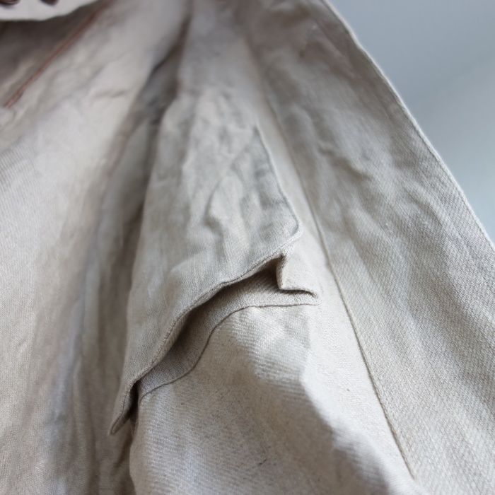 2月の製作 / anotherline heavylinen coat_e0130546_14002426.jpg