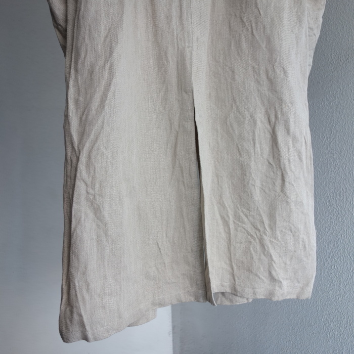 2月の製作 / anotherline heavylinen coat_e0130546_14014857.jpg