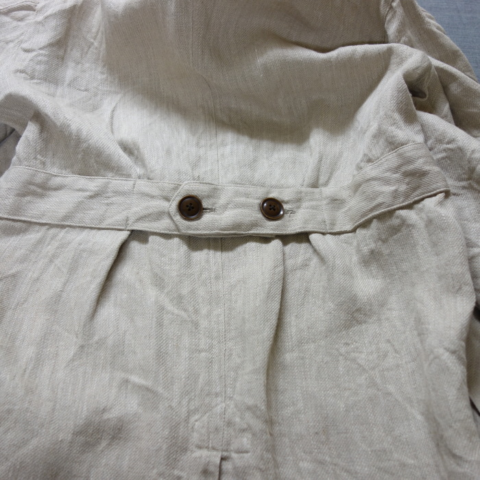 2月の製作 / anotherline heavylinen coat_e0130546_14050024.jpg