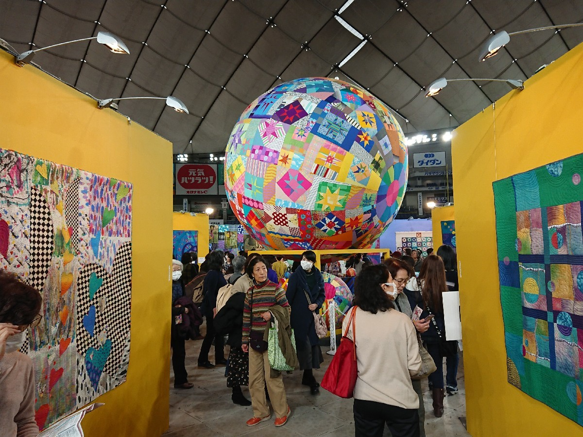 東京国際キルトフェスティバルへ(東京ドーム)_f0323446_22402601.jpg