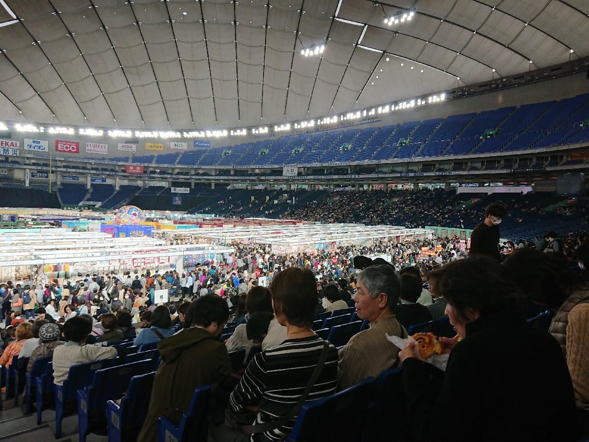 東京国際キルトフェスティバルへ(東京ドーム)_f0323446_22565721.jpg