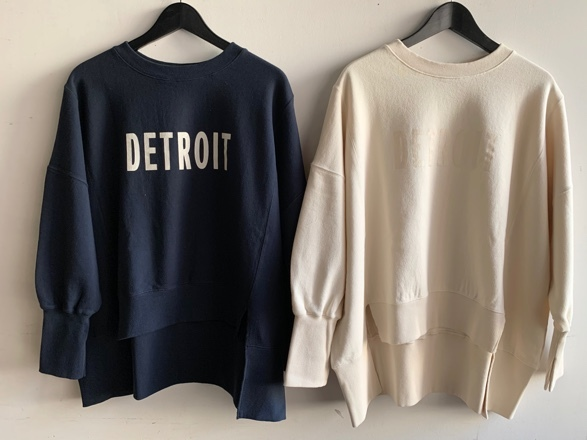 QUINOA BOUTIQUE◆裏毛プリントBIG SWEAT◆_e0269968_16175999.jpg