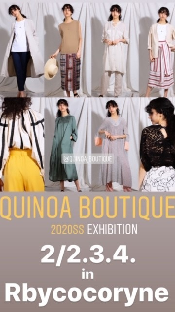QUINOA BOUTIQUE◆裏毛プリントBIG SWEAT◆_e0269968_18345054.jpg