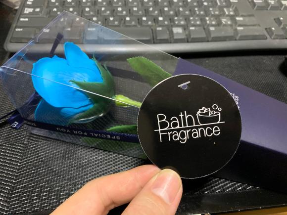 Bath Fragrance頂きました♫_b0283271_02440175.jpg