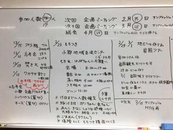 1月度企画ミーティング&吹矢練習会&飲み会_c0150273_23280415.jpg