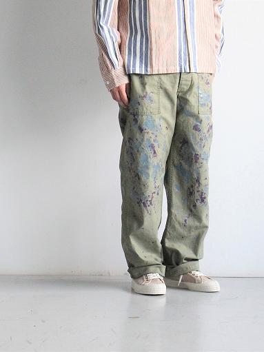 NEEDLES Fatigue Pant - Back Sateen / Paint_b0139281_1426259.jpg