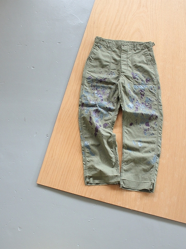 NEEDLES Fatigue Pant - Back Sateen / Paint_b0139281_14263330.jpg