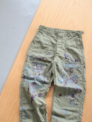 NEEDLES Fatigue Pant - Back Sateen / Paint_b0139281_14263879.jpg