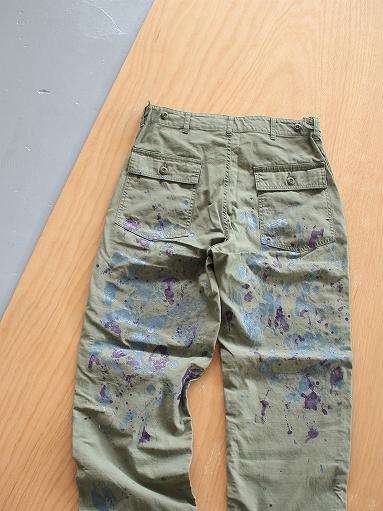 NEEDLES Fatigue Pant - Back Sateen / Paint_b0139281_14264375.jpg