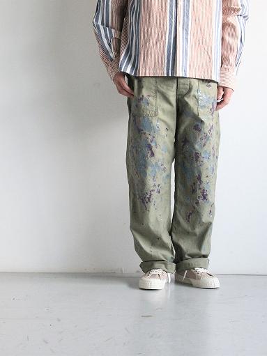 NEEDLES Fatigue Pant - Back Sateen / Paint_b0139281_14265487.jpg