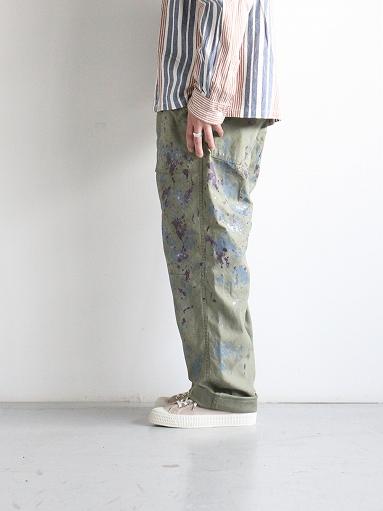 NEEDLES Fatigue Pant - Back Sateen / Paint_b0139281_14265847.jpg