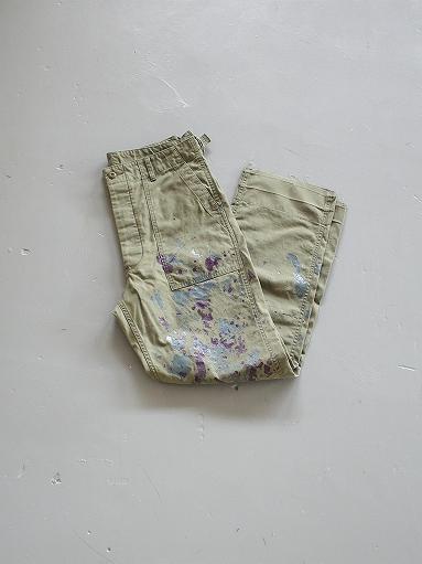 NEEDLES Fatigue Pant - Back Sateen / Paint_b0139281_14271379.jpg