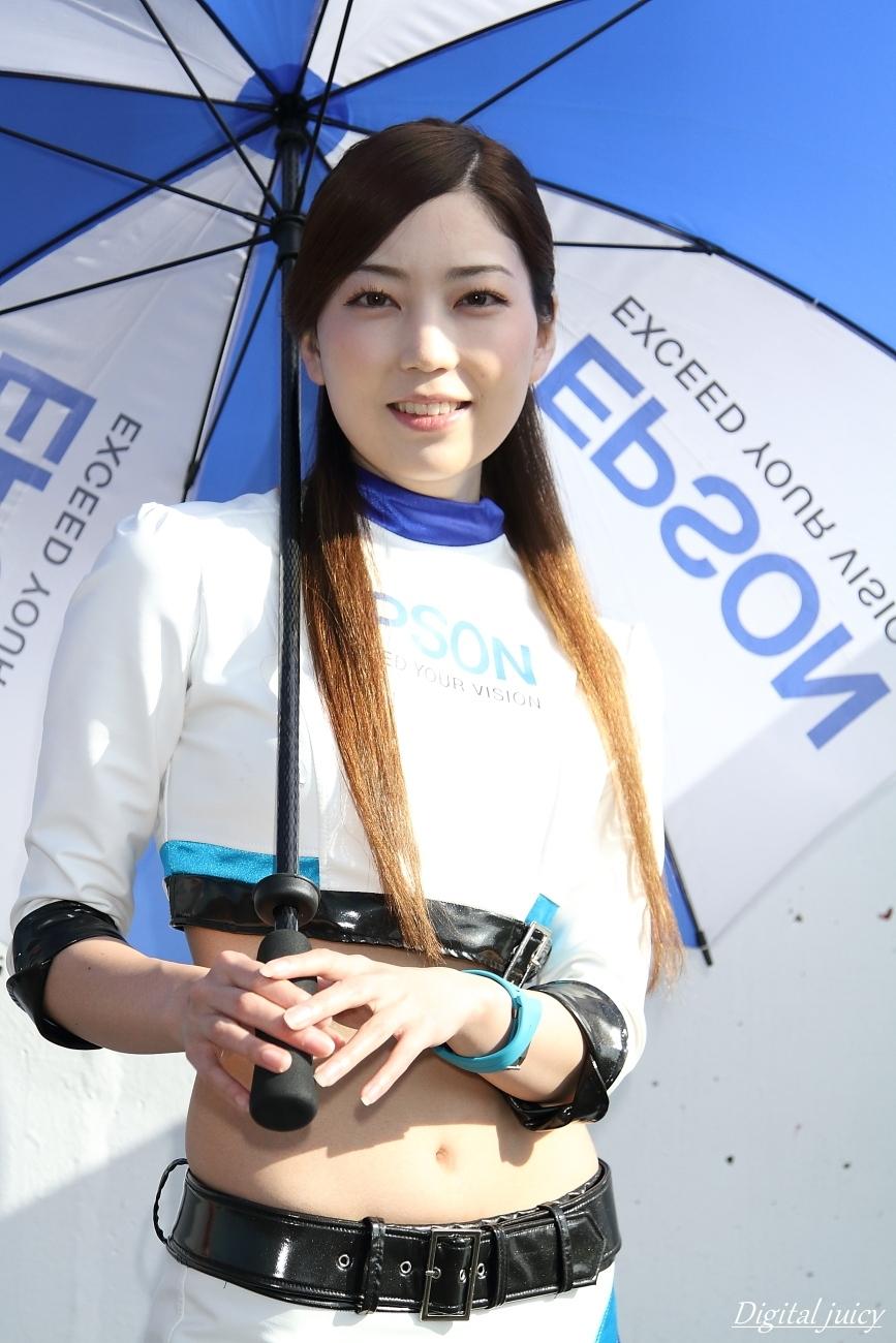 秋月清華 さん(Epson Nakajima Racing レースクイーン)_c0216181_22143244.jpg