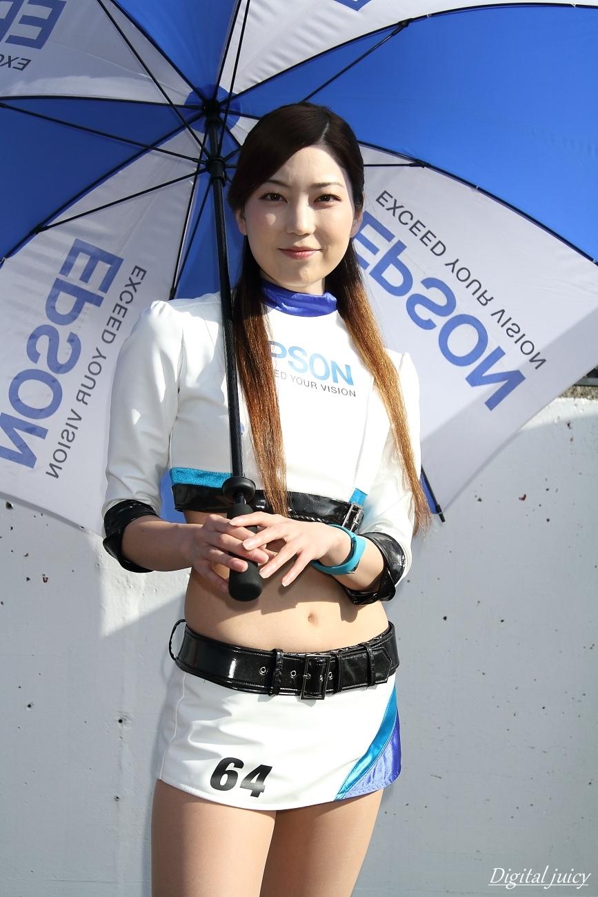 秋月清華 さん(Epson Nakajima Racing レースクイーン)_c0216181_22175057.jpg