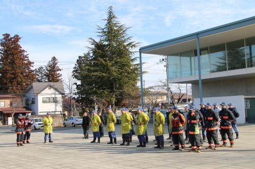 重要文化財・旧米沢高等工業学校本館にて消防訓練を行う_c0075701_11051898.jpg