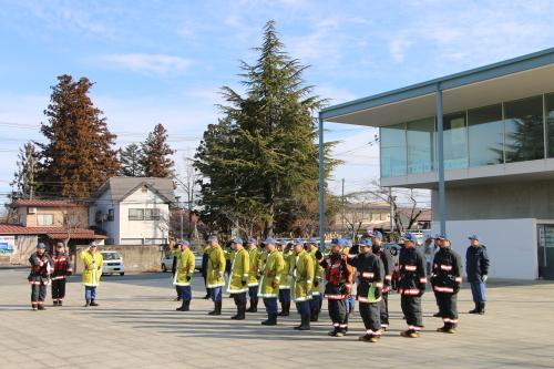 重要文化財・旧米沢高等工業学校本館にて消防訓練を行う_c0075701_11052672.jpg