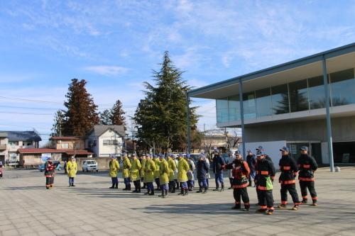 重要文化財・旧米沢高等工業学校本館にて消防訓練を行う_c0075701_11052943.jpg