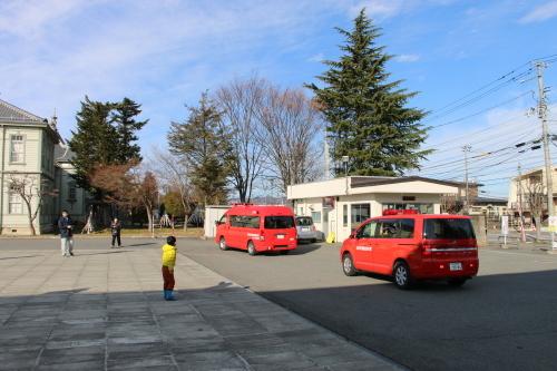 重要文化財・旧米沢高等工業学校本館にて消防訓練を行う_c0075701_11082650.jpg