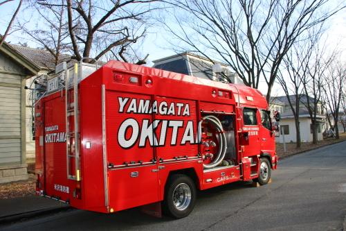 重要文化財・旧米沢高等工業学校本館にて消防訓練を行う_c0075701_11091939.jpg
