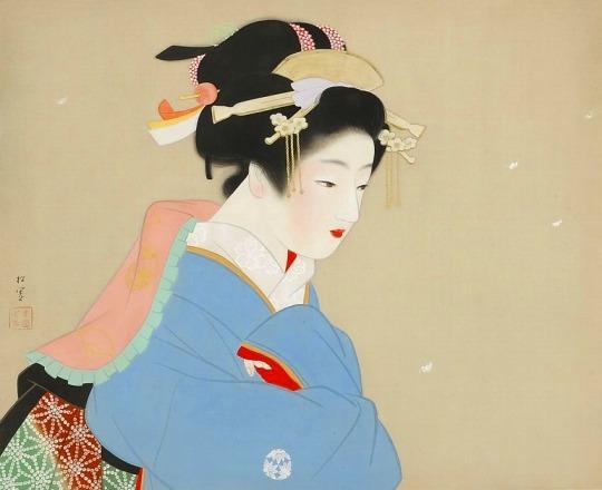 「上村松園と美人画の世界」@山種美術館_c0153302_16195624.jpg
