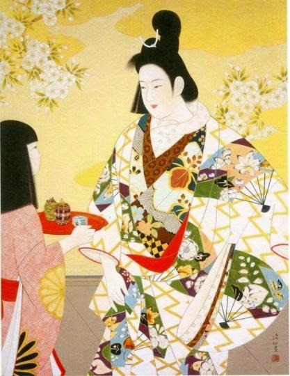 「上村松園と美人画の世界」@山種美術館_c0153302_16222264.jpg