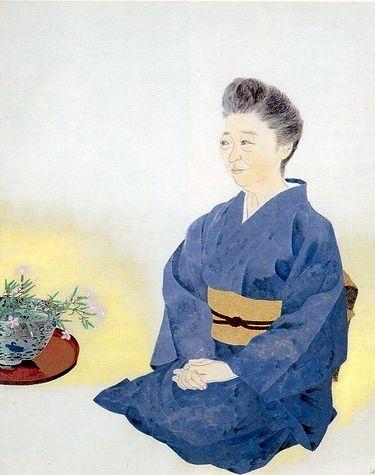 「上村松園と美人画の世界」@山種美術館_c0153302_16245787.jpg