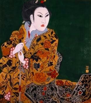 「上村松園と美人画の世界」@山種美術館_c0153302_16260329.jpg