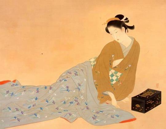 「上村松園と美人画の世界」@山種美術館_c0153302_16272105.jpg