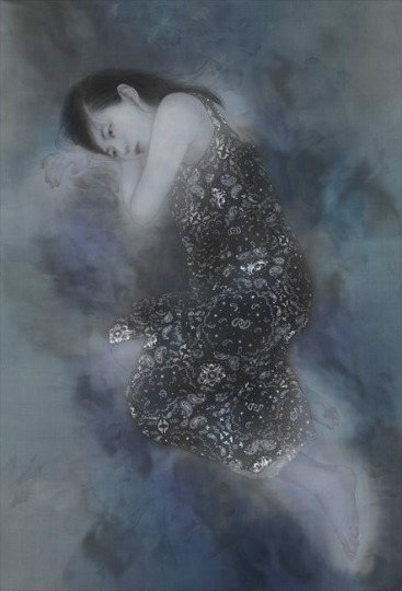 「上村松園と美人画の世界」@山種美術館_c0153302_16301007.jpg