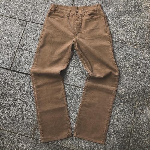 Levi\'s 519 corduroy pants 90\'s Deadstock_a0182112_16481812.jpg