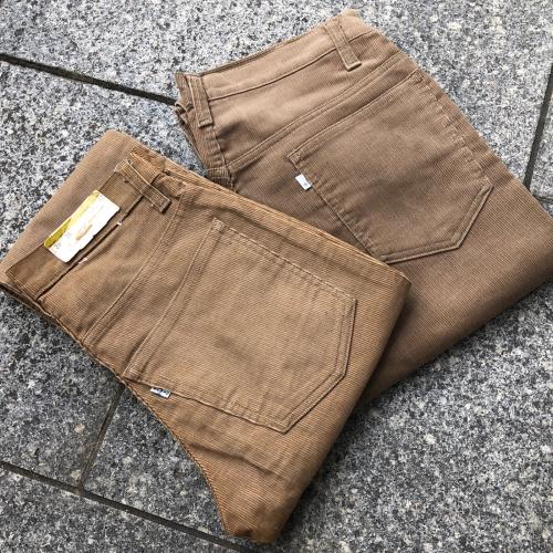 Levi\'s 519 corduroy pants 90\'s Deadstock_a0182112_16483491.jpg