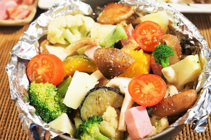 ■副菜【寒いときはホットサラダがいいね♥^^】これならお野菜が幾らでも食べられちゃいます♪_b0033423_20171797.jpg