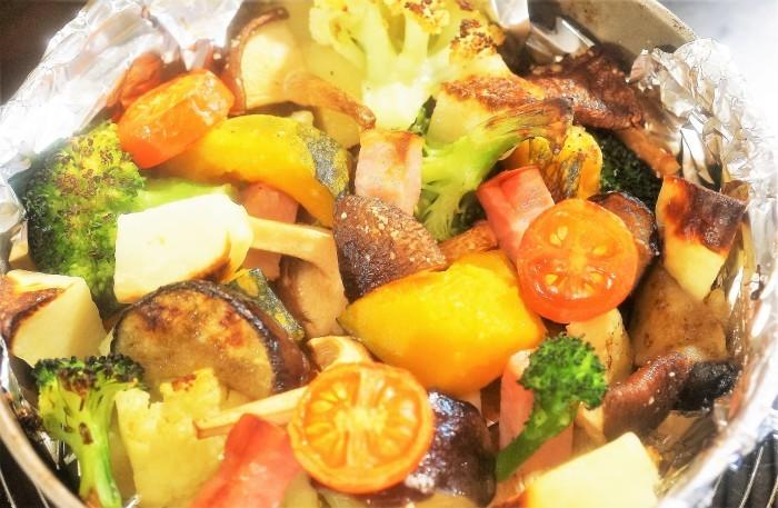 ■副菜【寒いときはホットサラダがいいね♥^^】これならお野菜が幾らでも食べられちゃいます♪_b0033423_20180387.jpg