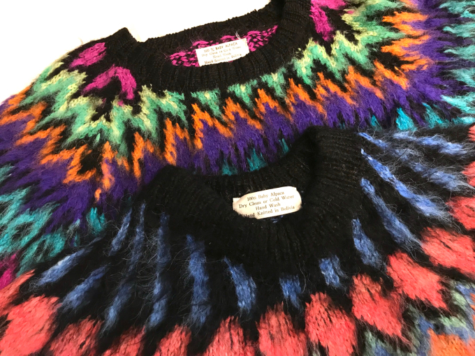 「 BUFFALO66 & ノルディックセーター 」_c0078333_13032233.jpg