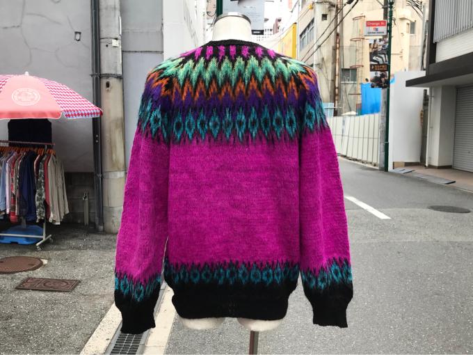 「 BUFFALO66 & ノルディックセーター 」_c0078333_14565976.jpg