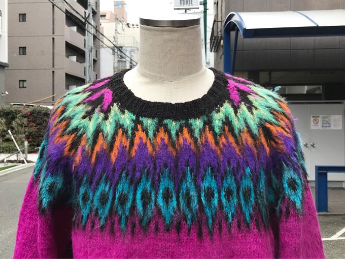 「 BUFFALO66 & ノルディックセーター 」_c0078333_14570384.jpg