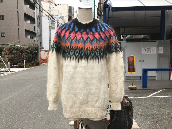 「 BUFFALO66 & ノルディックセーター 」_c0078333_14572291.jpg