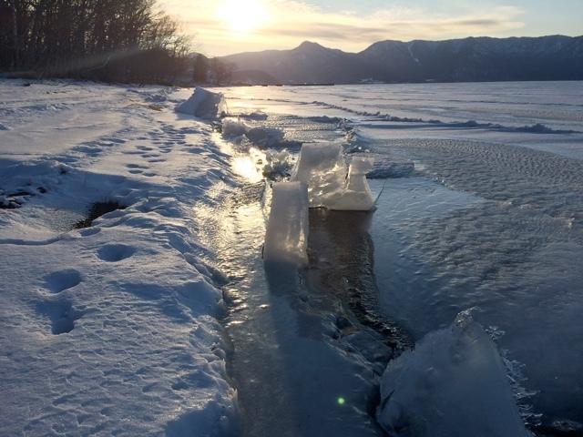 屈斜路湖の結氷の現在_e0405754_20313818.jpg