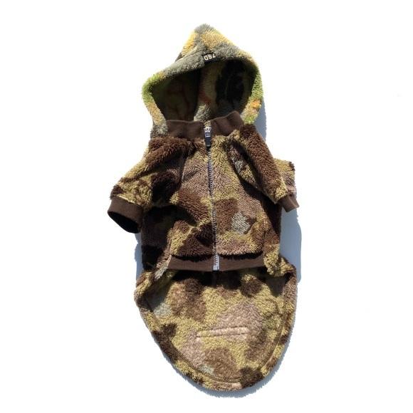 seven seas dog camo jacket セブンシーズドッグ カモ ジャケット ブラウン_d0217958_18455872.jpeg