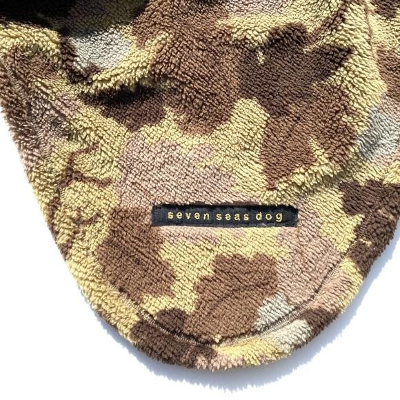 seven seas dog camo jacket セブンシーズドッグ カモ ジャケット ブラウン_d0217958_18455958.jpeg